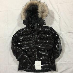 Moncler Women's Jacket Fox Fur Hoodie Coat